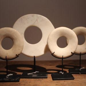 witte ringen schelpbeen