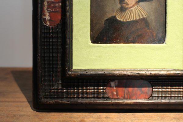 schilderij van 17e eeuwse edelman